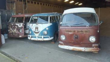 VW aircooled barn find